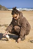 Ecologist in action Stock Images