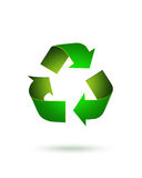 Ecology. Green recycle  icon, ecology concept Royalty Free Stock Photography