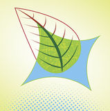 Ecology. Abstract banner.Vector illustration Royalty Free Stock Photos