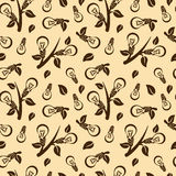Ecology abstract seamless pattern Stock Images