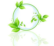 Ecology abstract vector design Royalty Free Stock Image