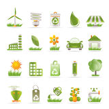 Ecology And Nature Icons Stock Image