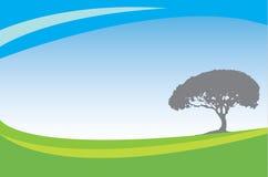 Ecology bacground. Ecology and environmental background, illustation Stock Photo