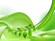 Ecology background Royalty Free Stock Photos