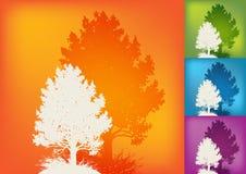 Ecology background royalty free illustration