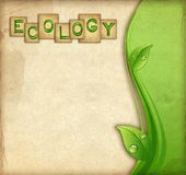 Ecology background Stock Image