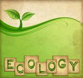 Ecology background Royalty Free Stock Photos
