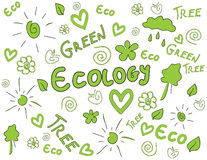Ecology  background Stock Photography