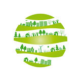 Ecology background. Ecology concept you can use on Earth Day stock illustration