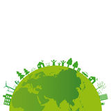 Ecology background. Ecology concept you can use on Earth Day Stock Image