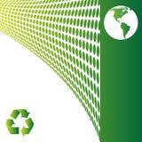 Ecology background. Map of the world, ecology background Vector illustration Royalty Free Stock Photo