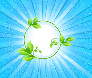 Ecology background vector Royalty Free Stock Images