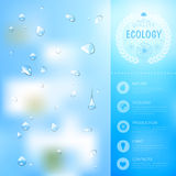 Ecology background Royalty Free Stock Image