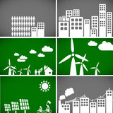 Ecology backgrounds & elements Stock Photography