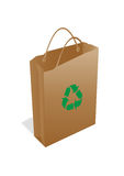 Ecology bag Royalty Free Stock Photo
