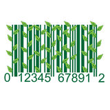 Ecology BARCODE Royalty Free Stock Photography