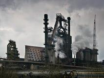 Ecology and behavior of human - smokestack industrial Stock Photos
