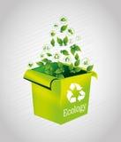 Ecology box Stock Photos