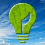 Ecology bulb. Stock Image