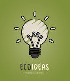 Ecology  bulb Stock Photography