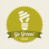 Ecology  bulb Stock Images