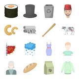 Ecology, business, hobby and other web icon in cartoon style.package, liquid, raglan icons in set collection. Royalty Free Stock Photo