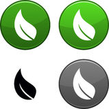 Ecology button. Ecology round buttons. Black icon included Royalty Free Stock Photography