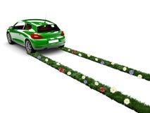 Ecology car Stock Photography