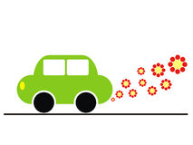 Ecology car Stock Photo