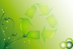 Ecology christmas Stock Photo