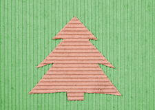 Ecology Christmas-tree background Stock Images