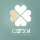 Ecology concept background Royalty Free Stock Image
