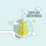 Ecology concept Royalty Free Stock Photography