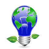 Ecology concept. Green energy Royalty Free Stock Image