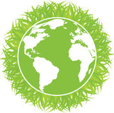 Ecology concept of green planet Royalty Free Stock Photography