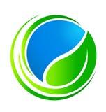 Ecology concept logo vector illustration