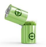 Ecology concept a net energy. Royalty Free Stock Photos