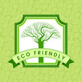 Ecology concept - save earth, illustration Royalty Free Stock Photography