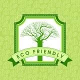 Ecology concept - save earth, illustration royalty free illustration