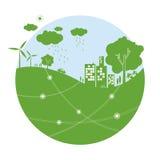 Ecology concepts Stock Photos