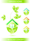 Ecology conceptual icon Stock Image