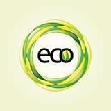 Ecology Design Element Set 1 Royalty Free Stock Images