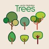 Ecology design. Over beige background, vector illustration Stock Images