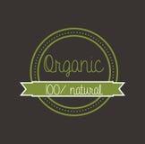 Ecology design. Over dark background vector illustration Stock Images
