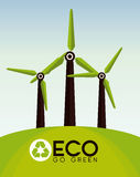 Ecology design Stock Images