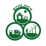 Ecology design Stock Photo