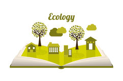 Ecology design Royalty Free Stock Photo