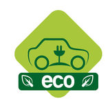 Ecology design. Over white background, vector illustration Stock Image