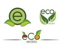 Ecology design. Over white background, vector illustration Royalty Free Stock Photo