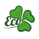 Ecology design. Over white background, vector illustration Stock Photography